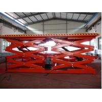 Dual Fork Elevating Work Hydraulic Scissor Lift Tables Hydraulic Lifting System Manufactures