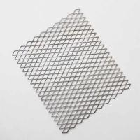 China 1/4 #18 Carbon Steel Expanded Metal Mesh Flat For Room Dividers on sale