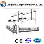ZLP800 stee structure platform/window cleaning machine/suspended platform Manufactures