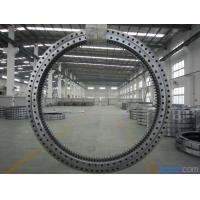Precision Single Row Slewing Ring Bearings With Ball Slewing Bearing External Gear Manufactures