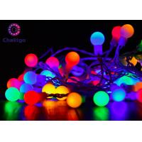 Waterproof Ball Decorative Indoor String Lights Pure Copper 0.7 Inch Multi Color Manufactures
