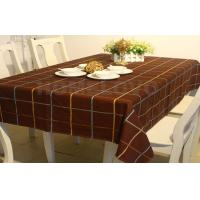 Custom made colored Restaurant Table Cloth dining room table cloths Manufactures
