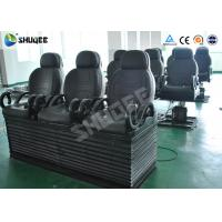 Electric 5D Cinema Equipment With Black Motion Chair , Provide Accurate Motion Effect Manufactures