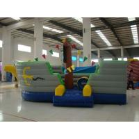 China Inflatable Pirate Boat Combo 6x4m  Kids Outdoor Inflatable Pirate Ship on sale