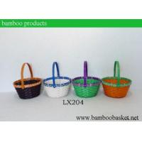 Quality Fashion Rect Easter Bamboo Basket|fruit Basket for sale