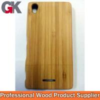 China Bamboo Phone Cases for sony xperia T3 on sale