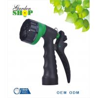 China Rear Trigger 6-Pattern Plastic garden water hose nozzle for garden on sale