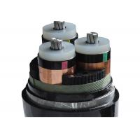 Buy cheap Medium Voltage Steel  Armoured Electrical Cable With 3 Cores PVC Sheath from wholesalers