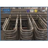 Stainless Steel Superheater And Reheater , Coal Fired High Efficient Heat Exchanger Manufactures