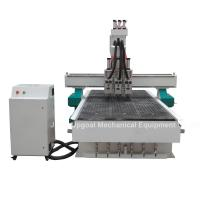 Quality 3 Spindles Auto Tool Changer ATC Furniture Wood Relief CNC Machine for sale