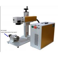 China 20/30 watt Fiber laser peeling & etching machine on stainless steel and plastic with CE Certificate on sale
