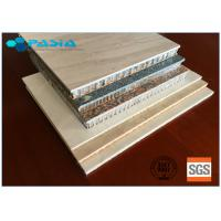 China Customized Stone Facing Honeycomb Panel Of Wear-Resistant High-grade Furniture Decoration Materials on sale