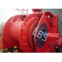 China Hydraulic Footstep Piledriver Winch Lebus Drum Offshore Winch For Rotary Drilling Rig on sale