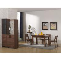 2016 Nordic Design Small Dining room furniture by Enlargeable Tables with Chairs and Wine Cabinet Manufactures