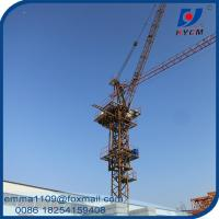 D63-2520 25M Jib Boom Luffing Tower Crane 1.2*3m Mast Section Manufactures