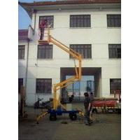 Mobile Hydraulic Boom Lift Crank Arm Electric Work Platform With Wheels Manufactures