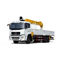 High Precision 6x4 Truck Mounted Crane DFL1250 Diesel Fuel ISO Standard Manufactures
