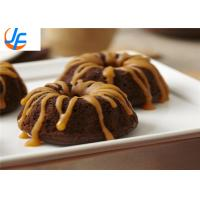 Al-steel 6 cake mould Mini Cake solid shape Non Stick small round cake pans for baking Manufactures