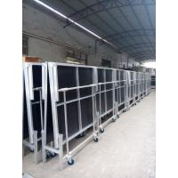 1.22*2.4M High 0.4-0.6 Or 0.6-1.0m Aluminum Folding Stage With Wheels Manufactures