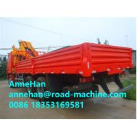 25 Tons Truck Mounted Crane 6X4 ZF 8098 Hydraulic Steering With Power Assistance Manufactures