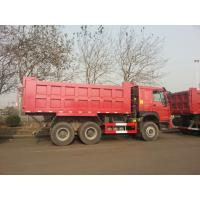 International Mining Dump Truck HYVA Front Tipping System / Large Tipper Truck Manufactures