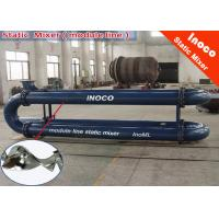 China BOCIN CE SK Stainless Steel Static Mixer For Liquid Mixing Static Inline Mixer on sale