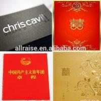 Wedding Card Gold Hot Stamp Foils MSDS 640MM × 120M 2 Years Storage Time Manufactures
