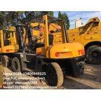 China Used 5ton Tcm Forklift Trucks Fd50 / Japan Made Second Hand Fork Lift Trucks on sale
