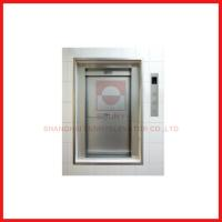 Load 100-300kg Industrial Freight Lift Elevator Open Sliding Door Flexible With Car Design Manufactures