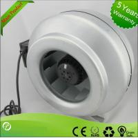 Popular Inline Centrifugal Duct Fan , Air Duct Booster Fan Low Noise Manufactures