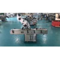 Manufacturer making flat case pouch labeling applicator for transparent or opaque sticker labeling machine Manufactures