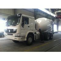 30 Ton 6x4 HOWO Mixer Truck , HW76 Cabin 10 Cubic Meter Concrete Transport Truck Manufactures