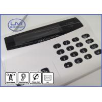 GSM-G20E Tri-Band 900 / 1800 / 1900 mhz GSM Home Security Alarm System with Voice Prompt and Dial Panel Manufactures