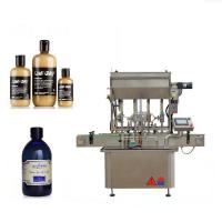 Pneumatic Driven 4 Head Liquid Filling Machine For Honey / Beef Paste / Bean Sauce Manufactures