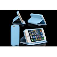 Blue iPhone 5 Leather Protective Case Manufactures