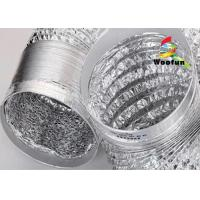 Quality HVAC different length available -20°C~120°C aluminum foil flexible ducting for sale