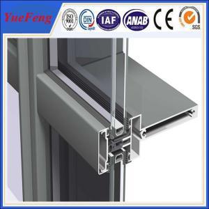 Quality Hot! aluminium wood grain profile, aluminum construction profile, aluminum wall for sale