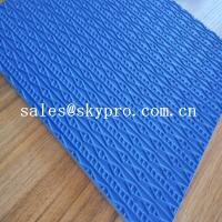 Anti-slip Shoe Sole Rubber Sheet EVA / rubber foam material Manufactures