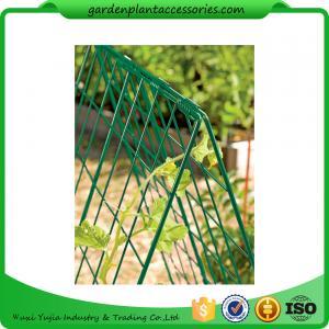 "Deluxe Garden Plant Trellis For Cucumbers , Steel Cucumber Garden Trellis Each side is 32"" W x 48"" H Manufactures"