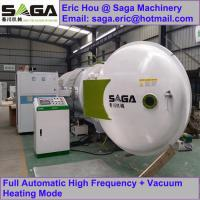 China High Frequency Vacuum Wood Drying Kiln For Sale From SAGA Machinery 4.5cbm on sale