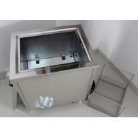 Power Adjustable Ultrasonic Wave Jewelry Cleaner For Diamond / Gemstone Manufactures
