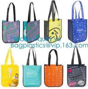 Promotional Custom Sublimation Recyclable Fabric Carry Non Woven Bag,Folding Reusable Non-woven Shopping Bag, Bagease