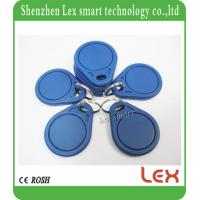 RFID frequency 125KHz TK4100 / EM4100 ABS ISO11785 Proximity Smart card Keyfobs Ring for Access Control Cards for sale
