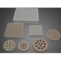 China Cordierite Industrial Ceramic Plate High Temperature Metal Melting and Burners on sale