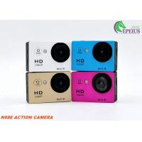 Mini 2'' Sport Wifi Action Camera 12mp 1080p 155 Degree 6G Lens For Cyclic Recording Manufactures