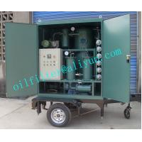 ZYD-M Mobile Trailer Transformer Oil Filtration Plant,Trolley Mounted Oil Purifier With Covers,Color Optional,4 Wheels Manufactures