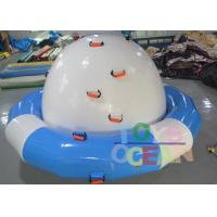 DIA 3M Inflatable Floating Water Spinner Towable Water Sports Saturn For Adults Manufactures
