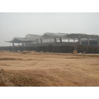 China Low Carbon Truss Structural Steel Frame For JieYang Airport Project on sale