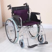 Adjustable Lightweight Aluminum Wheelchair , Multi Color Easy to Carry Manufactures