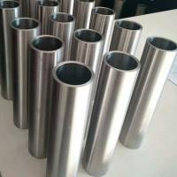 Anti Corrosive Thick Wall Titanium Tube , 4 Inch Titanium Pipe Alkali Resistance Manufactures